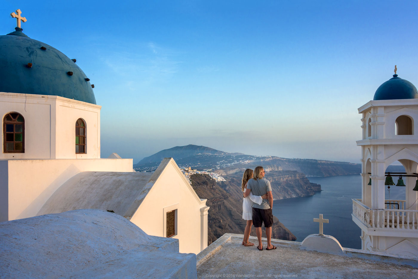 Santorini Churchtop Views