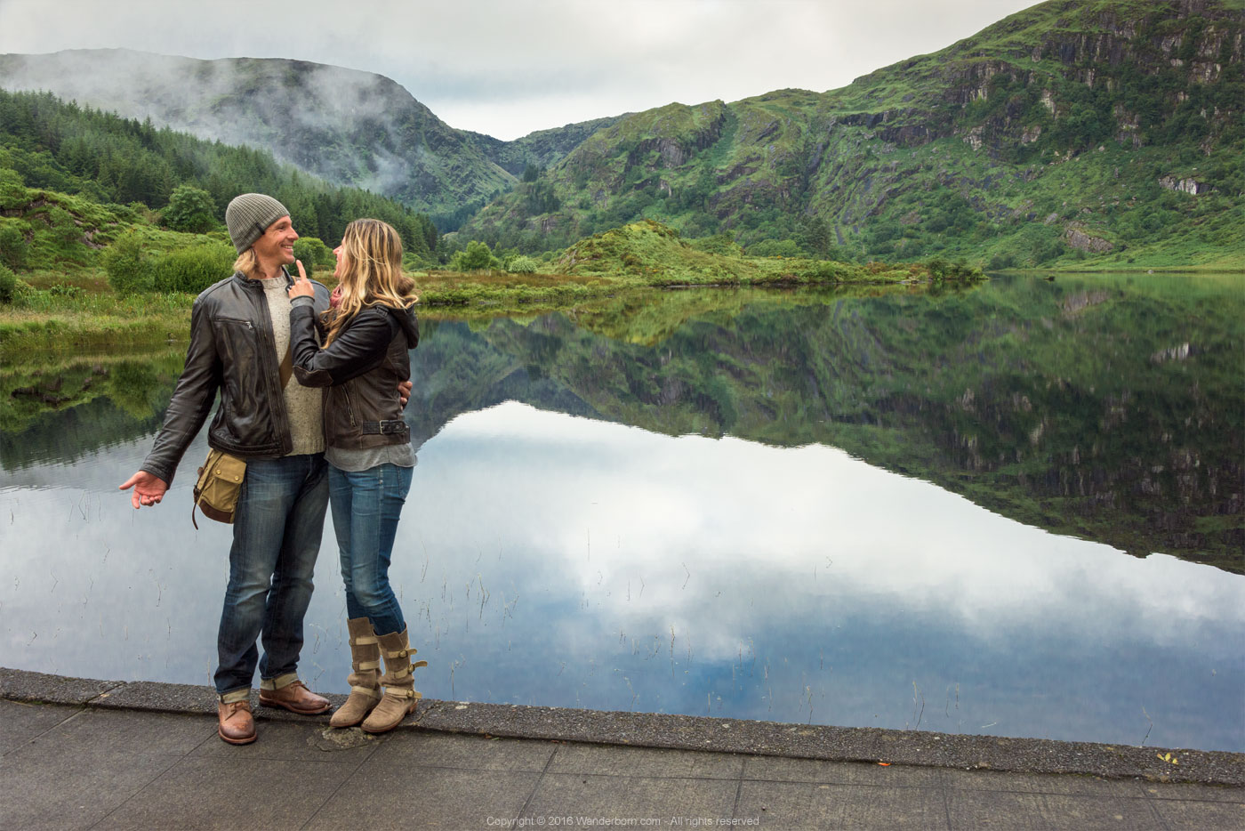 Shenanigans at Lake Gougane Barra