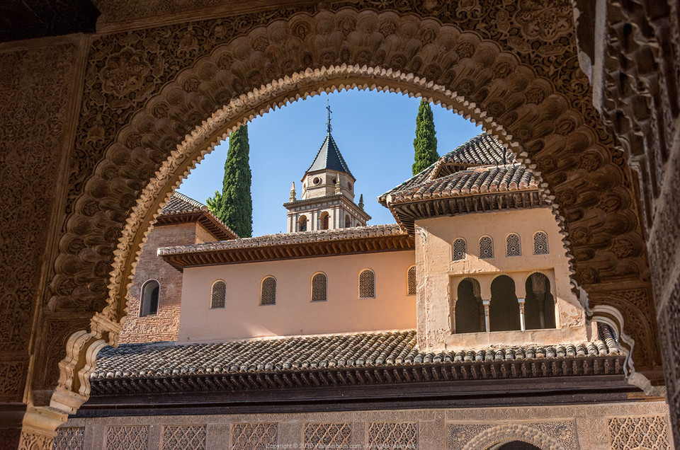 The magnificent Alhambra of Granada, Spain
